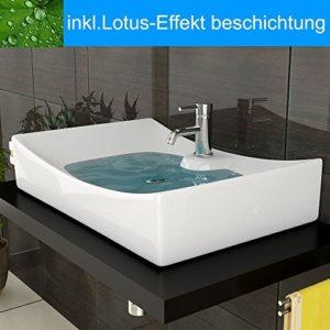 Aufsatzwaschbecken Lotus Effekt