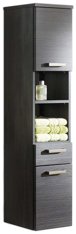 Badezimmer hochschrank der bad hochschrank vergleich for Badschrank mit aufsatzwaschbecken