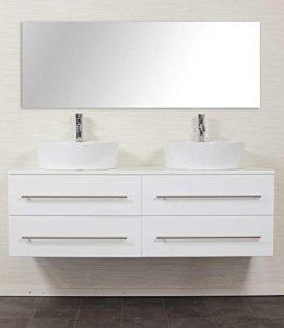 Doppelwaschbecken mit unterschrank weiß  ᐅ】Doppelwaschtisch mit Unterschrank - Doppelwaschbecken