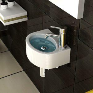 Waschbecken Gäste WC - Waschtisch Gäste WC