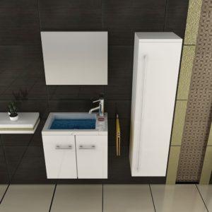 Waschbecken mit Unterschrank Gäste WC Waschbecken mit Unterschrank