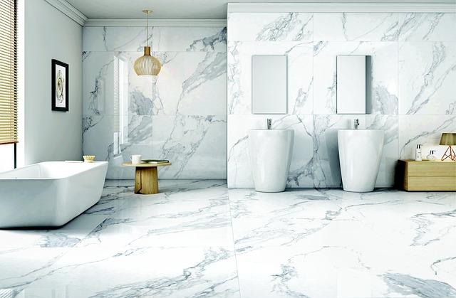Fliesenboden Badezimmer